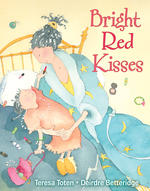 Bright Red Kisses