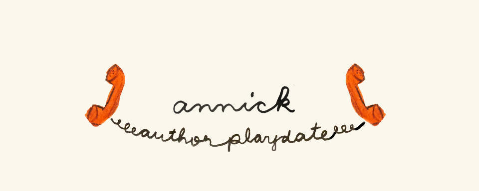 annick author playdate logo